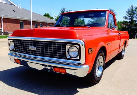 1971 Chevrolet C/K 10 Series for sale at WEST PORT AUTO CENTER INC in Fenton MO