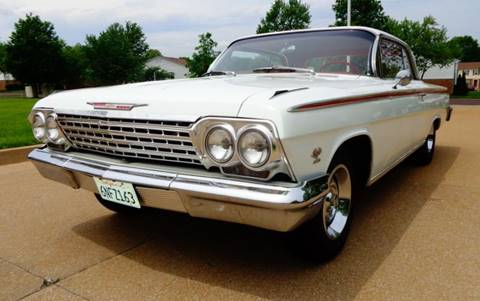 1962 Chevrolet Impala for sale at WEST PORT AUTO CENTER INC in Fenton MO