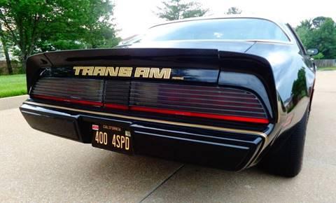 1979 Pontiac Trans Am L78 400 FOUR SPEED WS6 PERFORMANCE PKG In