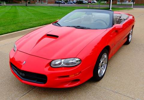 2002 Chevrolet Camaro for sale at WEST PORT AUTO CENTER INC in Fenton MO