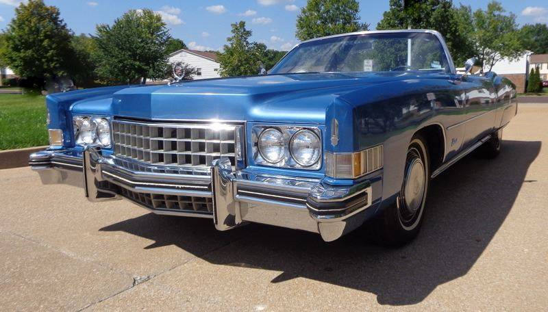 1973 Cadillac Eldorado for sale at WEST PORT AUTO CENTER INC in Fenton MO