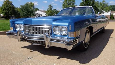 1973 Cadillac Eldorado for sale at WEST PORT AUTO CENTER INC in Fenton MO