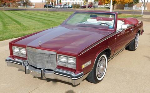 1984 Cadillac Eldorado for sale at WEST PORT AUTO CENTER INC in Fenton MO