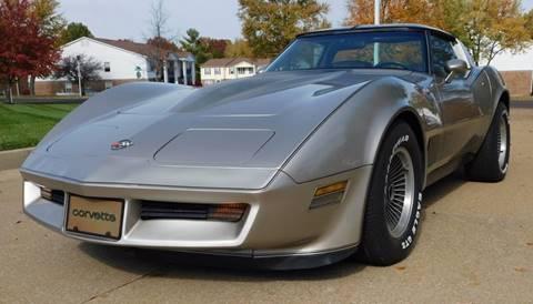 1982 Chevrolet Corvette for sale at WEST PORT AUTO CENTER INC in Fenton MO