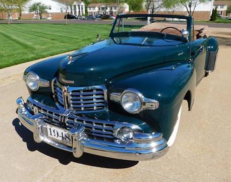 1948 Lincoln Continental for sale at WEST PORT AUTO CENTER INC in Fenton MO