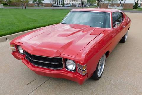 1971 Chevrolet Chevelle for sale at WEST PORT AUTO CENTER INC in Fenton MO