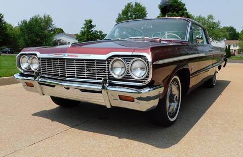 1964 Chevrolet Impala for sale at WEST PORT AUTO CENTER INC in Fenton MO