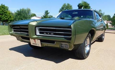 1968 Pontiac GTO for sale at WEST PORT AUTO CENTER INC in Fenton MO