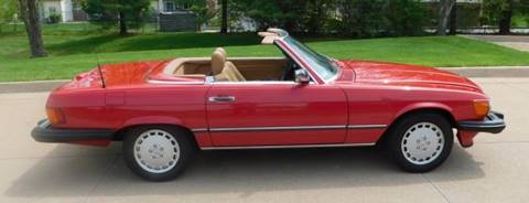 1989 Mercedes-Benz 560-Class for sale at WEST PORT AUTO CENTER INC in Fenton MO