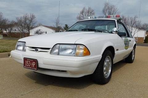 1993 Ford Mustang for sale at WEST PORT AUTO CENTER INC in Fenton MO