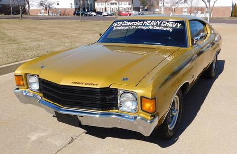 1972 Chevrolet Chevelle for sale at WEST PORT AUTO CENTER INC in Fenton MO