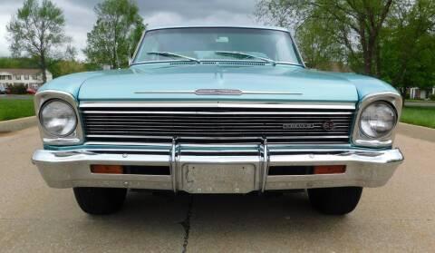 1966 Chevrolet Nova for sale at WEST PORT AUTO CENTER INC in Fenton MO