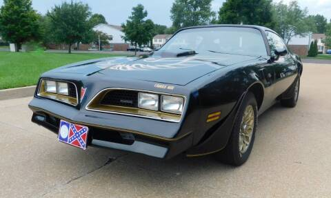 1977 Pontiac Trans Am for sale at WEST PORT AUTO CENTER INC in Fenton MO