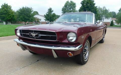 1965 Ford Mustang for sale at WEST PORT AUTO CENTER INC in Fenton MO