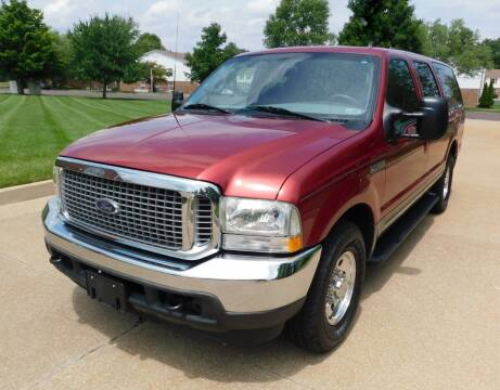 2002 Ford Excursion for sale at WEST PORT AUTO CENTER INC in Fenton MO