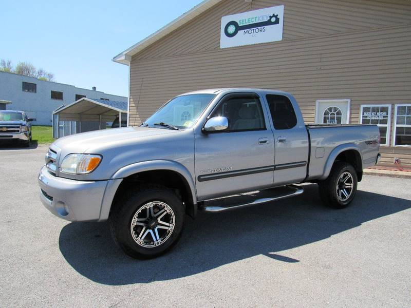 2003 Toyota Tundra For Sale At Select Key Motors LLC In Mount Sidney VA