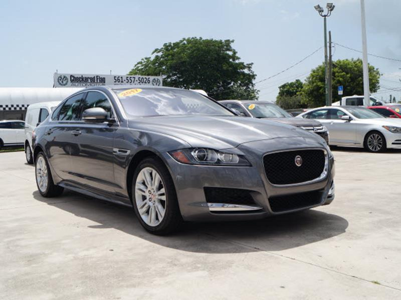 2017 Jaguar XF For Sale At Checkered Flag Automotive In West Palm Beach FL