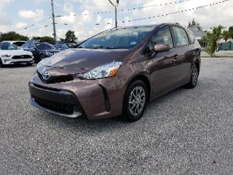 2015 Toyota Prius v for sale in West Palm Beach, FL
