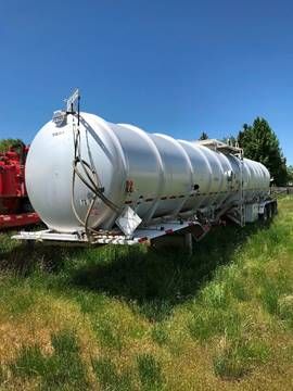 2012 Tytal Cylindrical Tank Trailer for sale at HAMPTON TRUCK SALES COMPANY in Idaho Falls ID