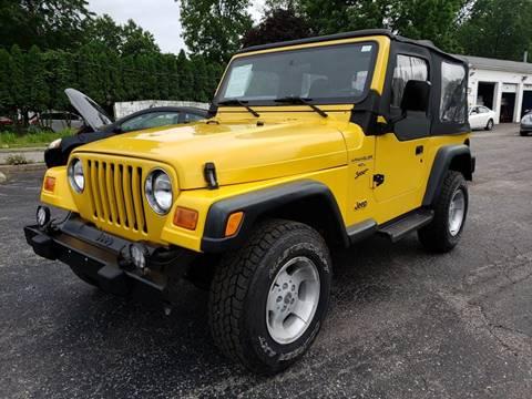 2000 Jeep Wrangler for sale in Toledo, OH