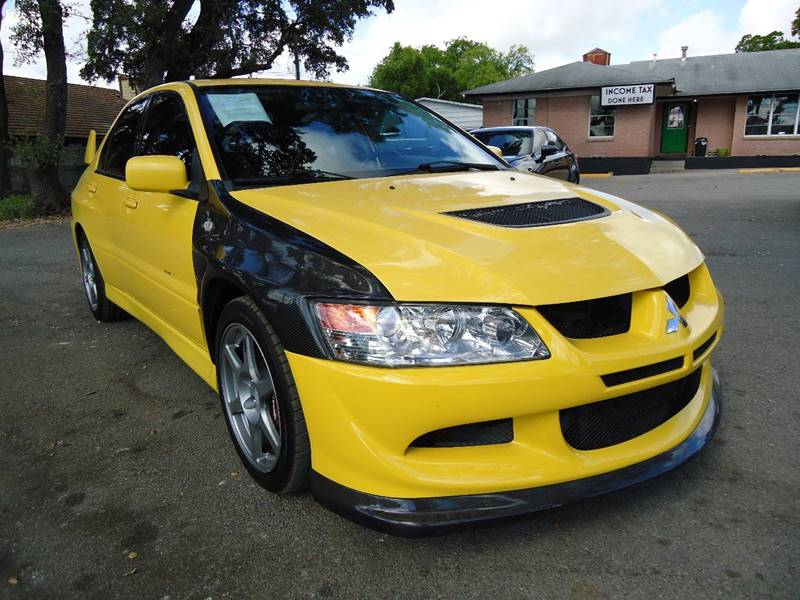 2003 Mitsubishi Lancer Evolution AWD 4dr Turbo Sedan   San Antonio TX