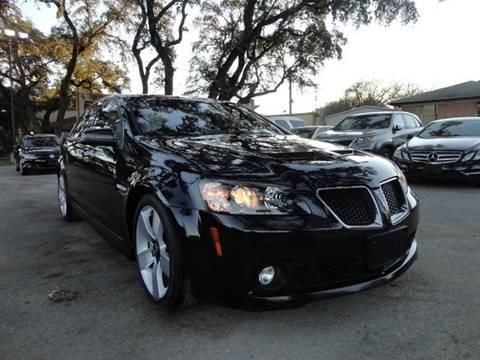 2009 Pontiac G8 for sale in San Antonio, TX