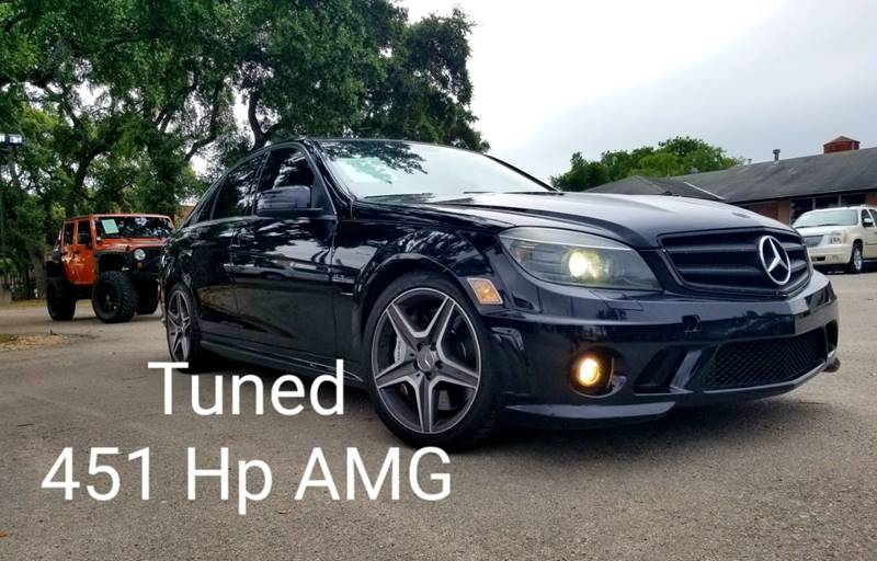 2010 Mercedes-Benz C-Class C 63 AMG 4dr Sedan In San Antonio TX