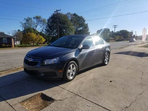2013 Chevrolet Cruze for sale at E Motors LLC in Anderson SC