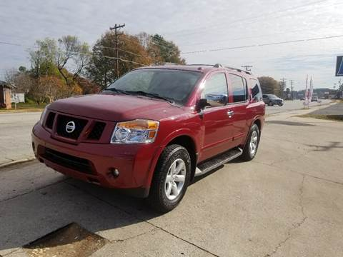 2008 Nissan Armada for sale at E Motors LLC in Anderson SC