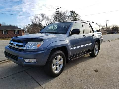 2005 Toyota 4Runner for sale at E Motors LLC in Anderson SC