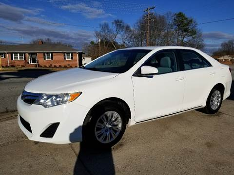 2012 Toyota Camry for sale at E Motors LLC in Anderson SC