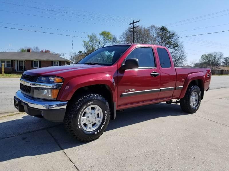 2004 Chevrolet Colorado for sale at E Motors LLC in Anderson SC