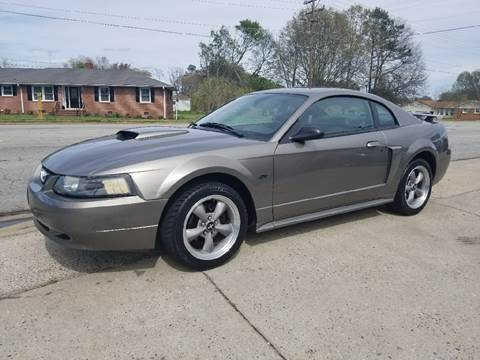 2002 Ford Mustang for sale at E Motors LLC in Anderson SC
