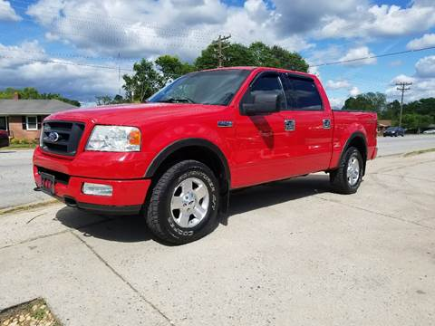 2004 Ford F-150 for sale at E Motors LLC in Anderson SC