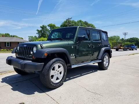 2009 Jeep Wrangler Unlimited for sale at E Motors LLC in Anderson SC
