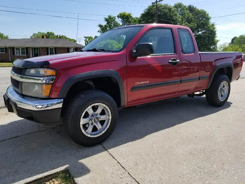 2005 Chevrolet Colorado for sale at E Motors LLC in Anderson SC
