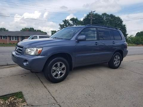 2004 Toyota Highlander for sale at E Motors LLC in Anderson SC