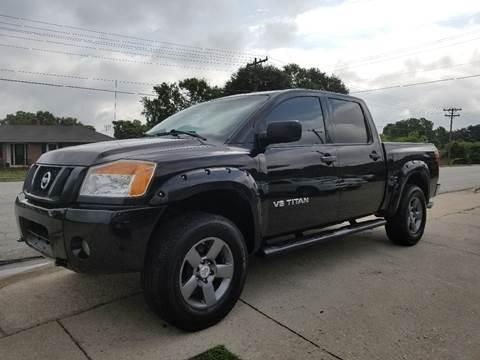 2010 Nissan Titan for sale at E Motors LLC in Anderson SC
