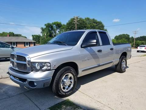 2004 Dodge Ram Pickup 2500 for sale at E Motors LLC in Anderson SC