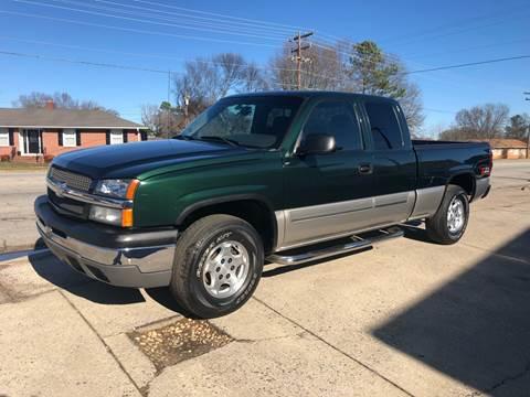 2003 Chevrolet Silverado 1500 for sale in Anderson, SC