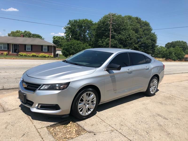 2014 Chevrolet Impala for sale at E Motors LLC in Anderson SC