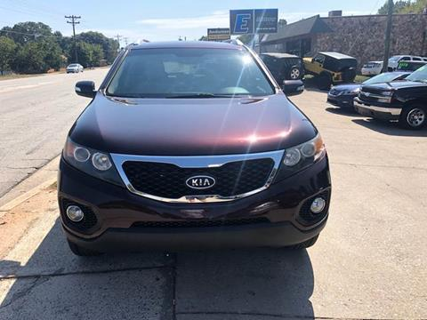 2011 Kia Sorento for sale at E Motors LLC in Anderson SC
