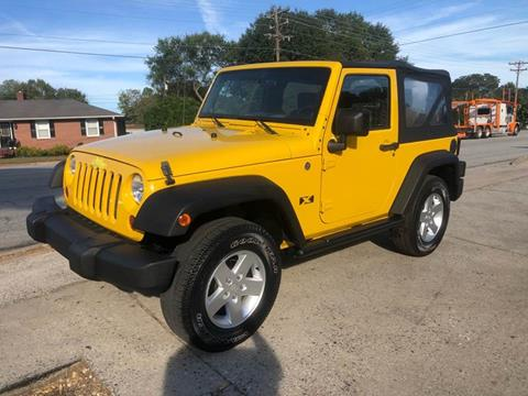 2008 Jeep Wrangler for sale at E Motors LLC in Anderson SC