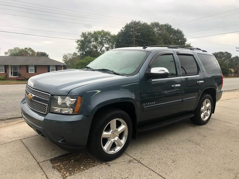 2008 Chevrolet Tahoe for sale at E Motors LLC in Anderson SC