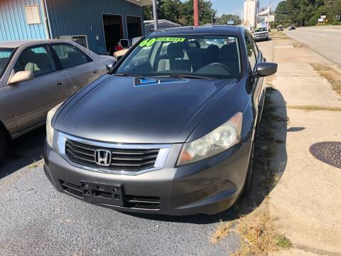 2009 Honda Accord for sale at E Motors LLC in Anderson SC