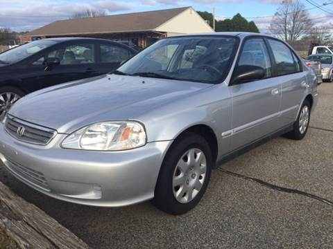 2000 Honda Civic for sale at Portsmouth Auto Sales & Repair in Portsmouth RI
