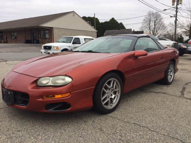 2002 Chevrolet Camaro for sale at Portsmouth Auto Sales & Repair in Portsmouth RI