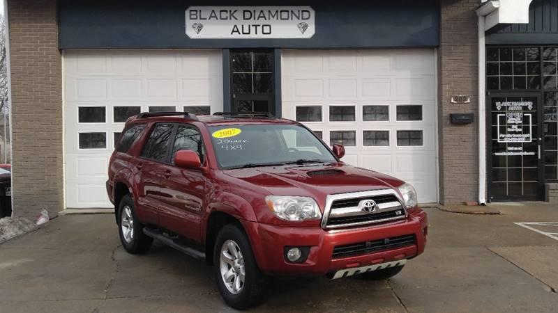 2007 Toyota 4Runner For Sale At Black Diamond Auto In Pella IA