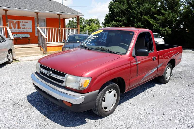 1999 Toyota Tacoma For Sale At Motor Mile Motors In Johnson City TN