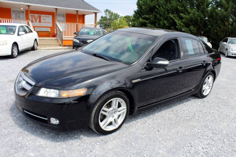 Acura TL In Johnson City TN Motor Mile Motors - 2007 acura tl for sale